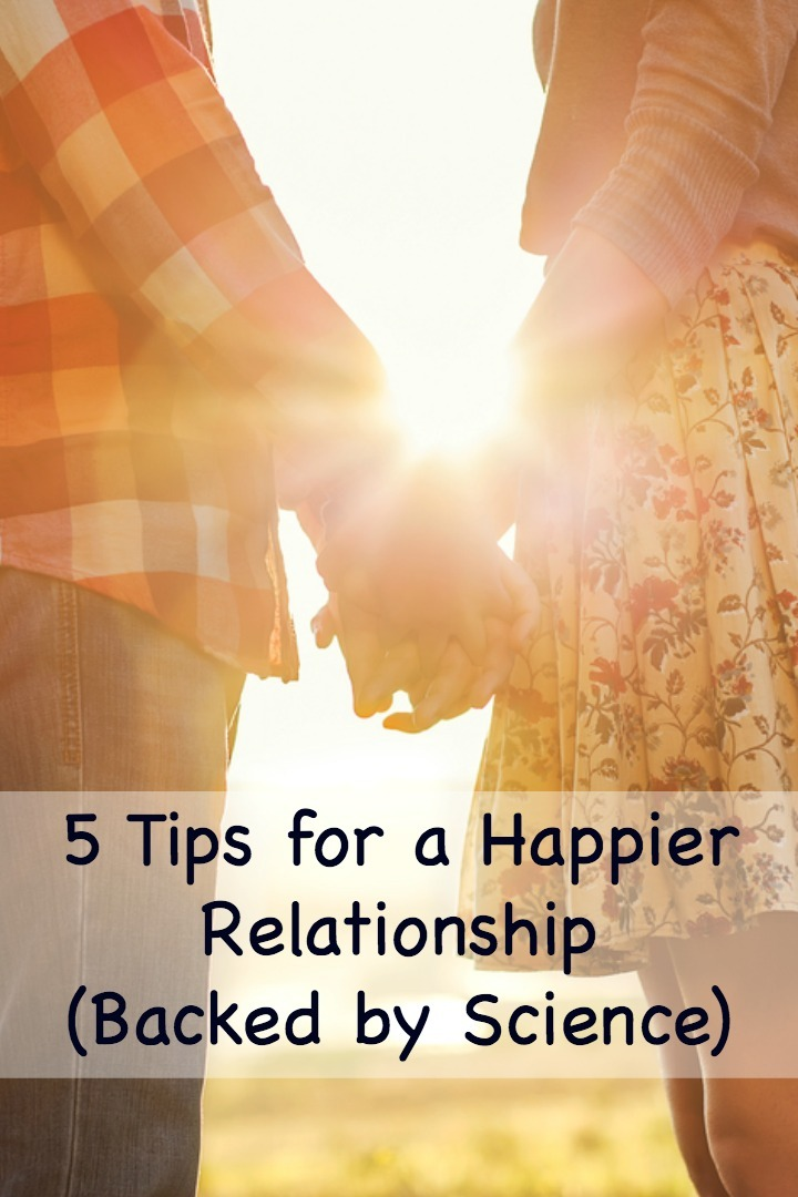 5 Tips for a Happier Relationship (Backed by Science) - http://thepowerofhappy.com/tips-for-a-happier-relationship/